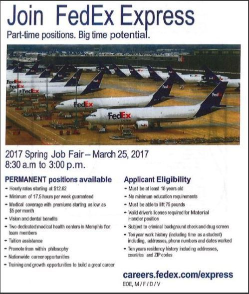 FedEx Job Fair March 25 | Job & Career News from the Memphis ...