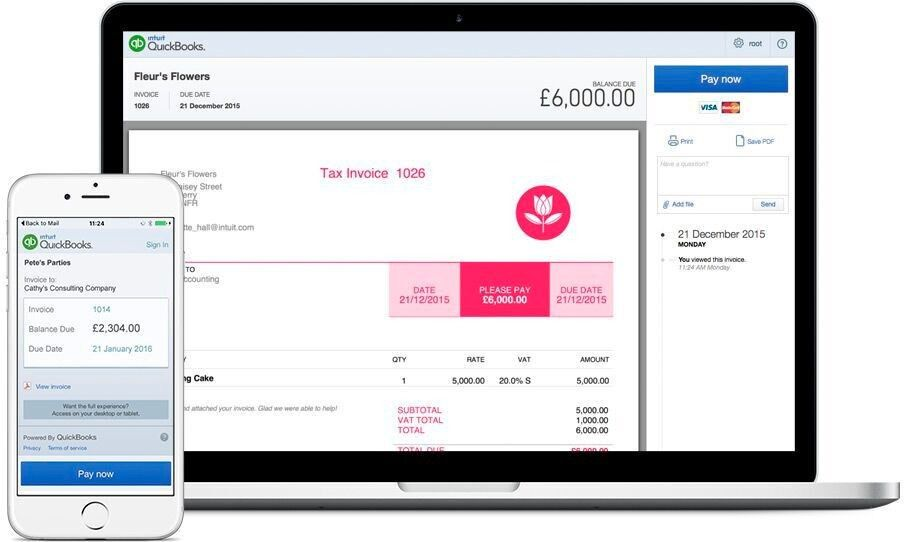 Invoicing Software for Small Businesses | QuickBooks Invoices