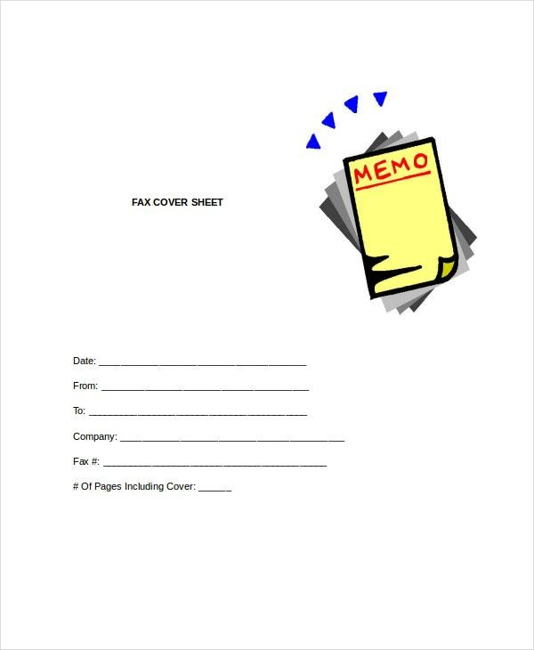 Fax Cover Letter - 8+ Free Word, PDF Documents Download   Free ...
