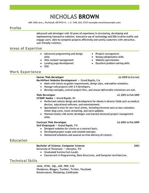 Best 20+ Latest resume format ideas on Pinterest | Good resume ...