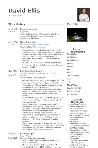Program Manager Resume samples - VisualCV resume samples database