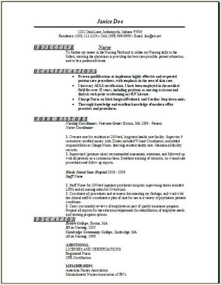 Dialysis Nurse Resume Sample 6 Sample Resume For Dialysis Nurses ...