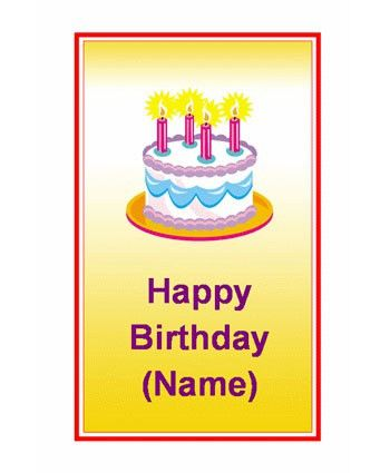 Birthday Card Template Word - lilbibby.Com