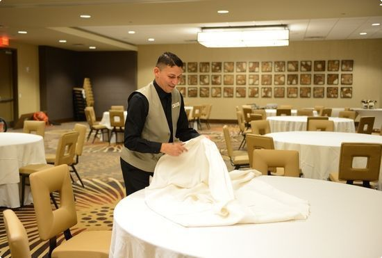 a banquet manager ensures that meals and events run smoothly ...