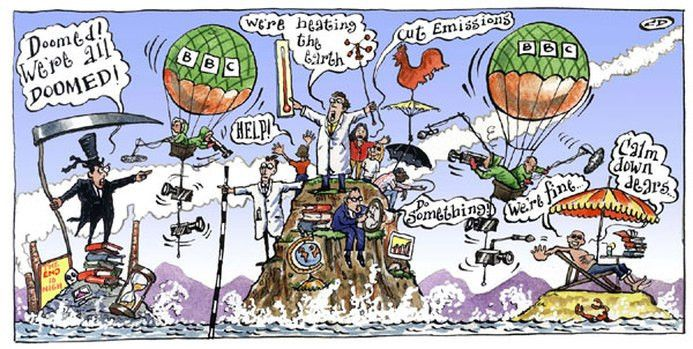 Straw Man - Global warming in the media