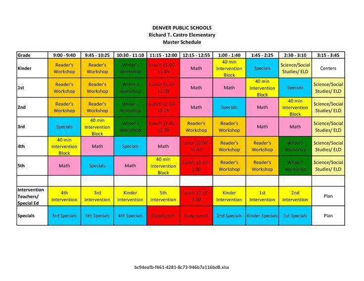 25+ best Master schedule ideas on Pinterest   Pecs communication ...