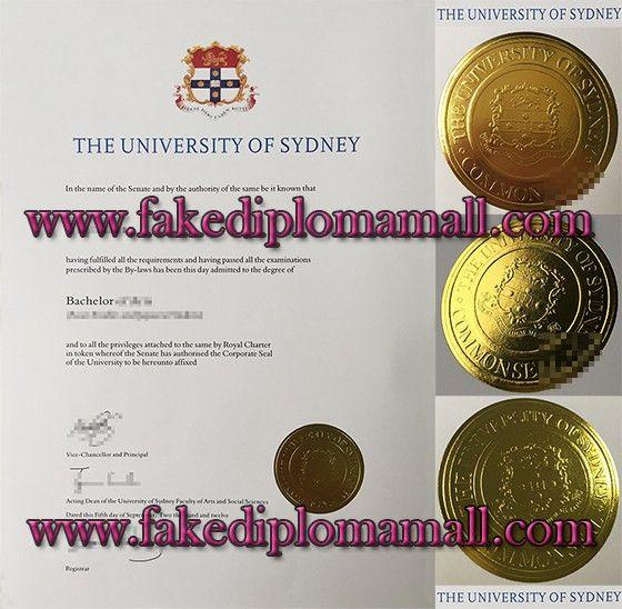 USYD, University of Sydney Bachelor degree sample_Buy degree|buy ...