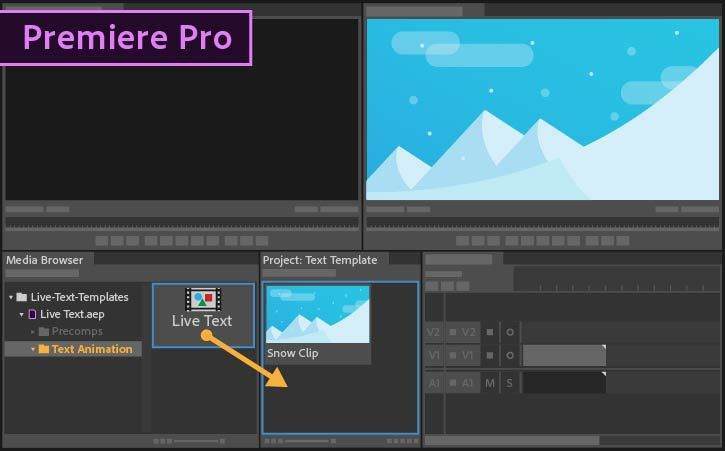 How to use Live Text templates from After Effects in Premiere Pro ...
