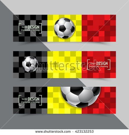 Football Competition. Advertisement Card. Template, Brochure ...