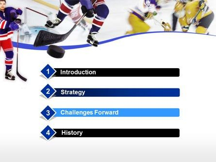 free ice hockey powerpoint template ice hockey presentation ...