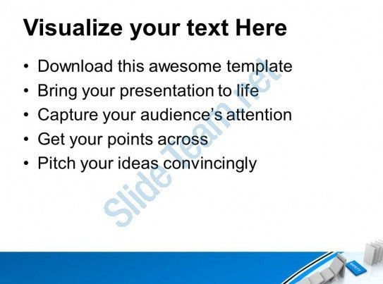 White Dominoes With Safety Business Powerpoint Templates Ppt ...