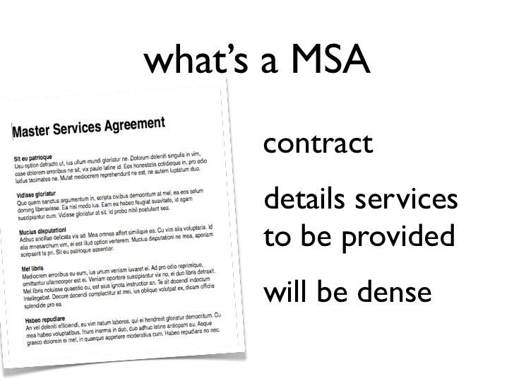 Master Service Agreement Template. Service Agreement Template 42 ...