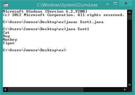 Program for Java Sort Arraylist | Code Creator Programs