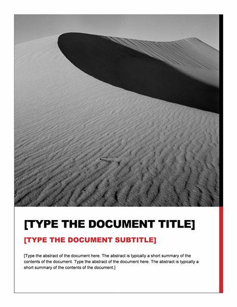 Report (Essential design) - Office Templates