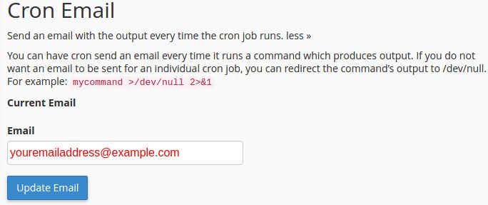 How to Use Cron Jobs Feature on cPanel
