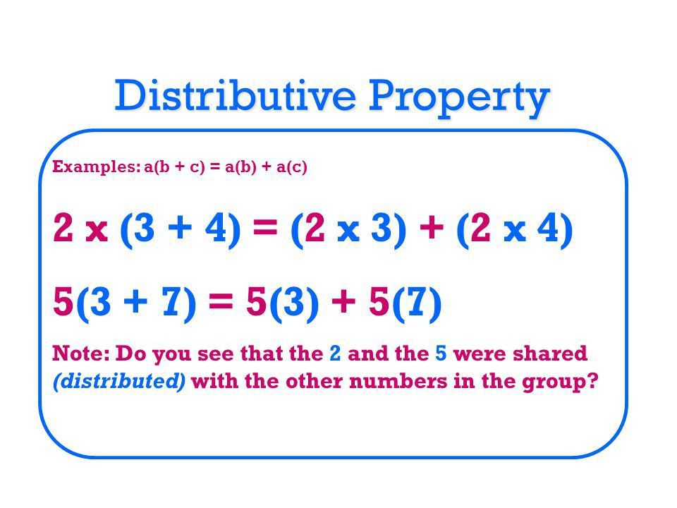 Properties of Addition & Multiplication - ppt video online download