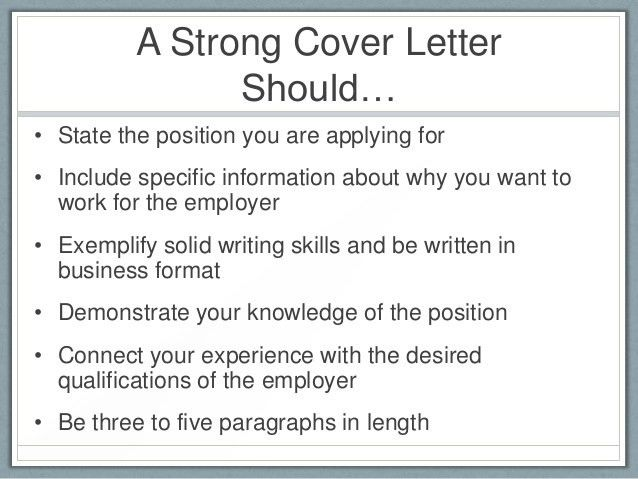 What Should A Cover Letter Consist Of - uxhandy.com
