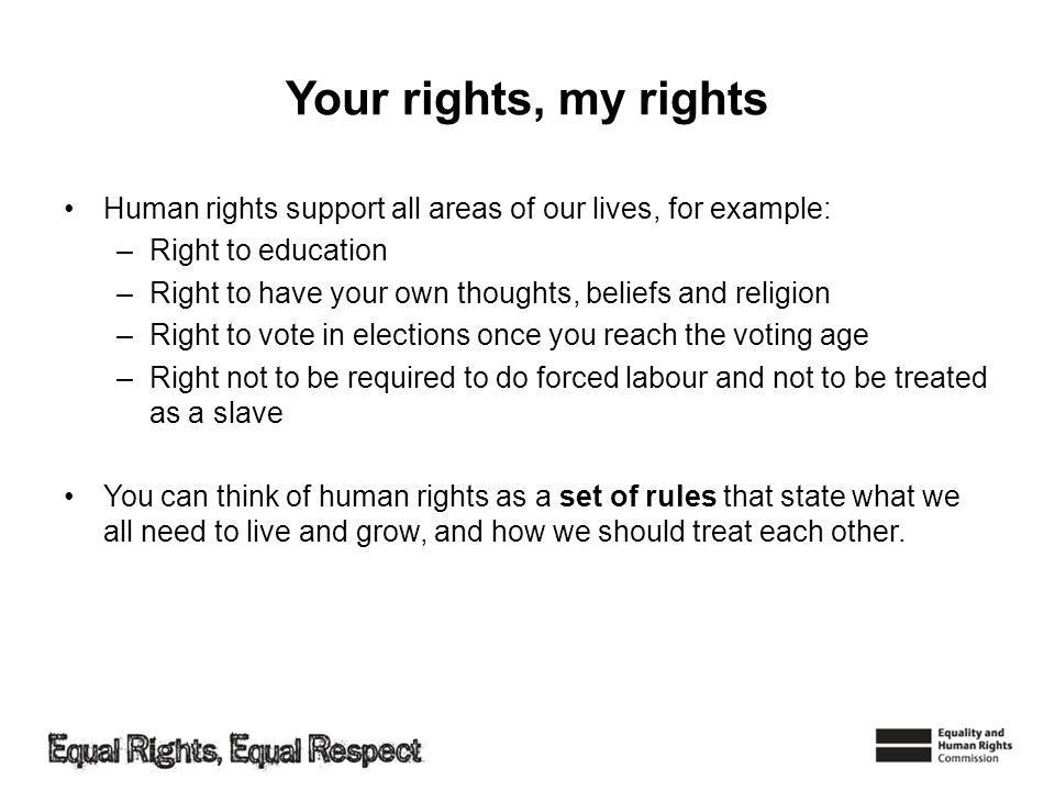 Social Studies 10/11 Which human rights would be on your shopping ...