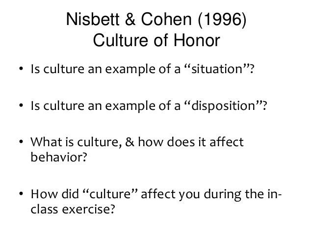 psy313_wk12 - groupthink & culture of honor - Copy