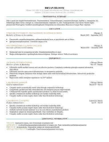 examples beautiful resumecv templates ideal template afea resume ...