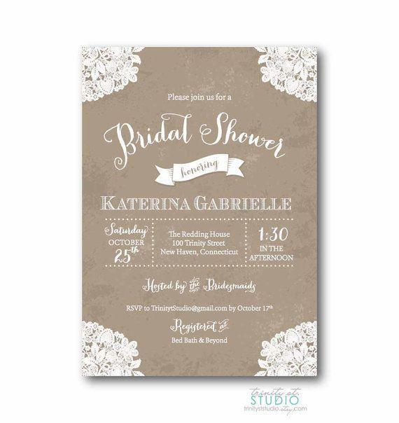 Bridal Shower Invitation Bridal Shower Invite Miss To Mrs Wedding ...