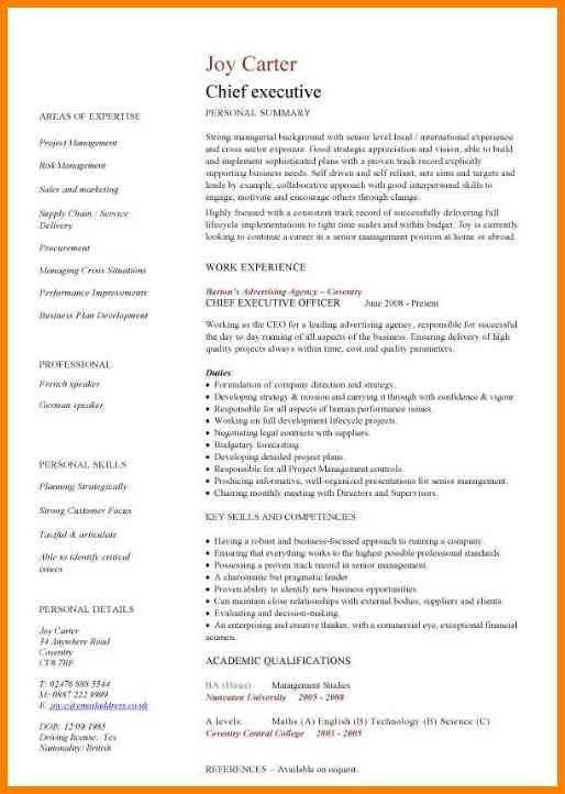 common resume format 3 resume formats which one works for you