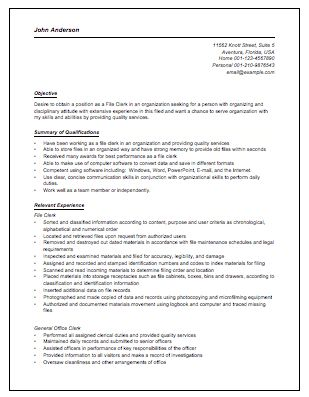 Accounts Payable Clerk Resume | berathen.Com