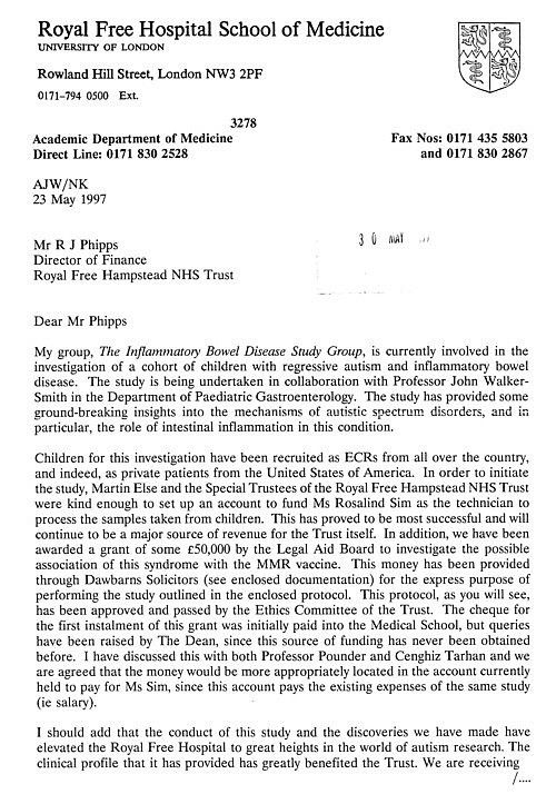 Brian Deer investigates MMR - Wakefield and Lancet story false