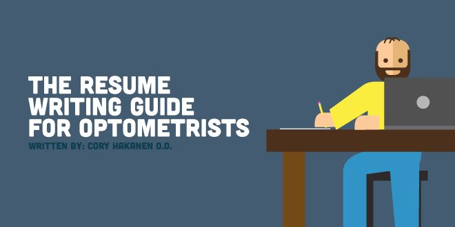 The Resume Writing Guide for Optometrists - NewGradOptometry.com
