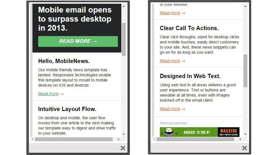 Best Mobile Newsletter Templates - 20+ Free Sample, Example ...