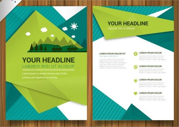 17+ Environmental Brochure Templates - Free PDS, AI, Vector, EPS ...