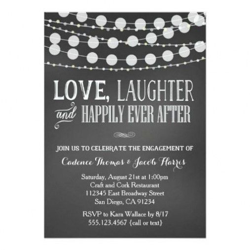 Engagement Party Invitation To Inspire You | THEWHIPPER.COM