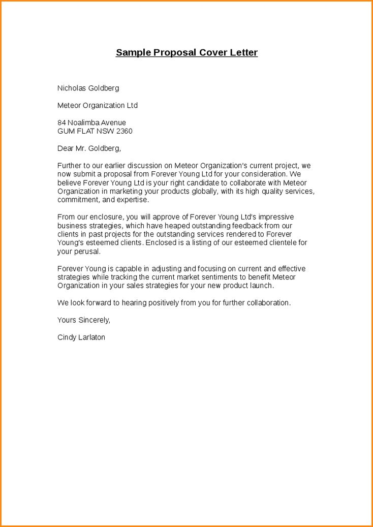 Proposal Letter Sample.sample Proposal Cover Letter 1.png - Loan ...