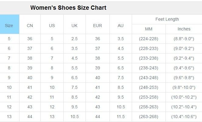 Size Charts l Maritime Leather