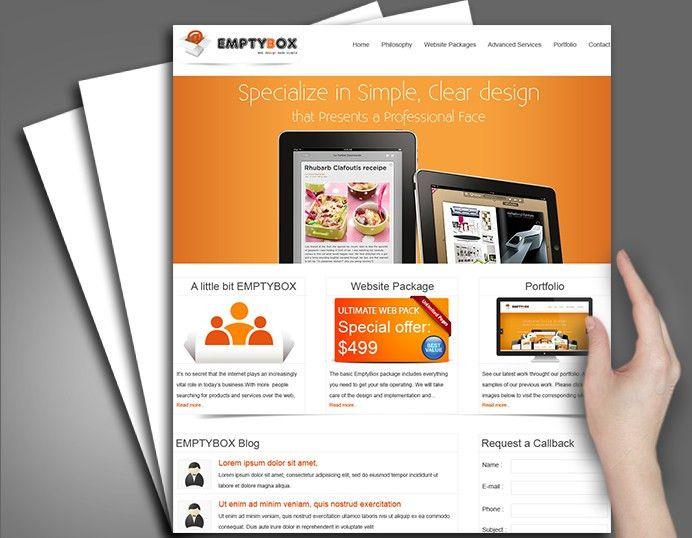 Web Design Sample, Web Design Portfolio, Website Work
