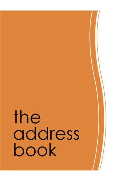 Address Book Template | Microsoft Word, Excel and Publisher Templates