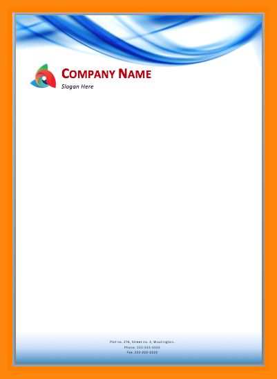 9+ letterhead designs free download | nurse resumed