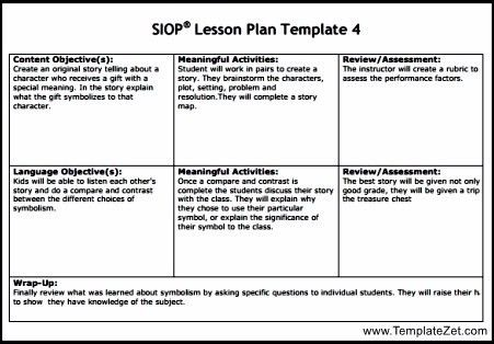 Siop Lesson Plan Templat. Siop Lesson Plan Template 3 By Zdh15614 ..
