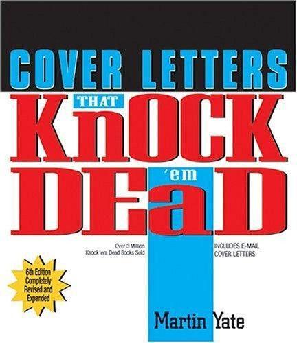 9781593371074: Knock Em'dead Cover Ltrs.(6th) (Knock 'em Dead ...