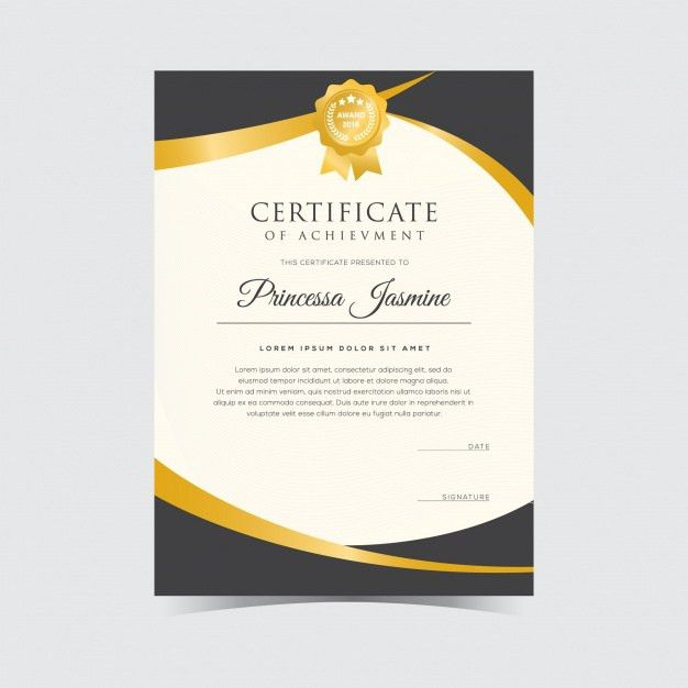 Certificate Of Recognition Vectors, Photos and PSD files | Free ...