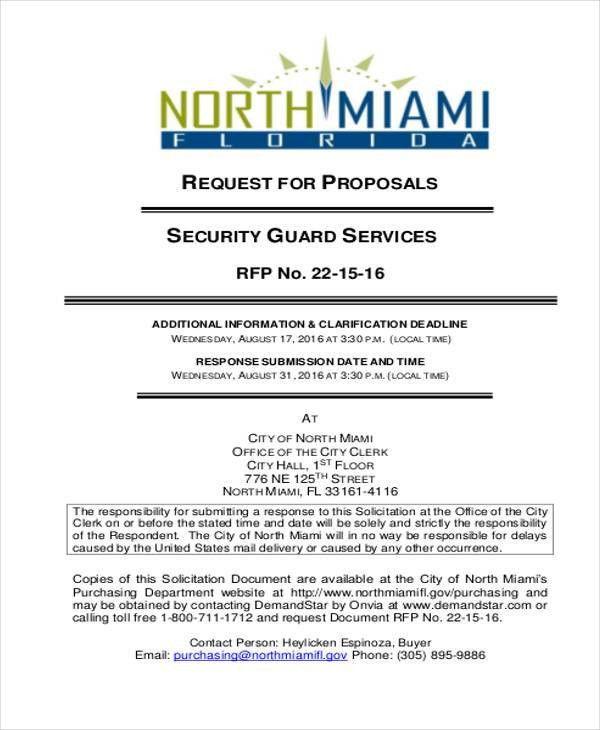 20+ Service Proposal Samples | Free & Premium Templates