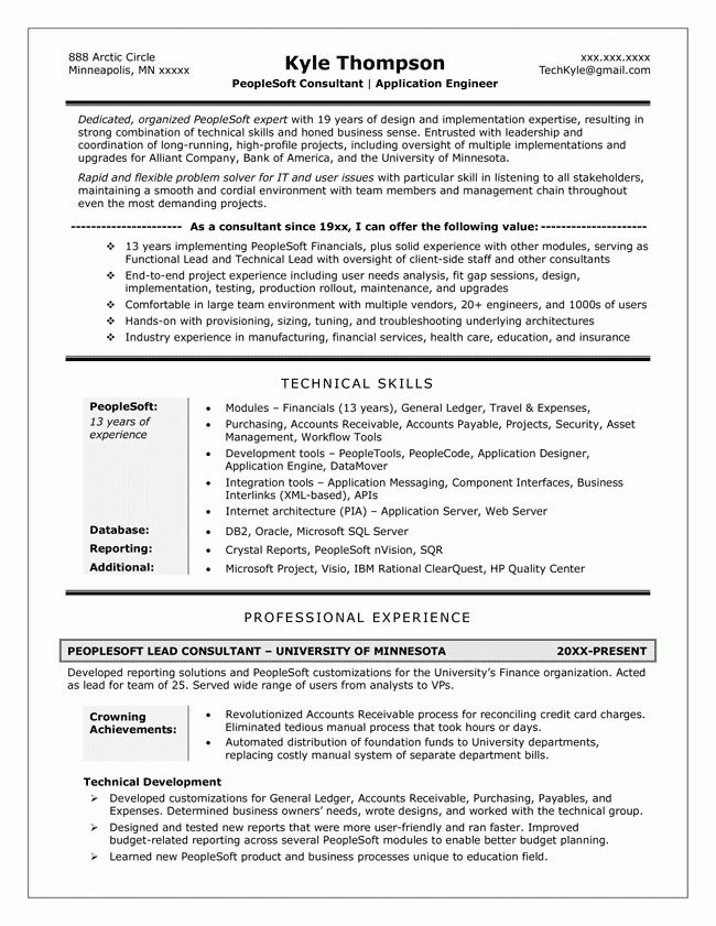 How To Write A Tech Resume 22 Your Resumes List Of Technical ...