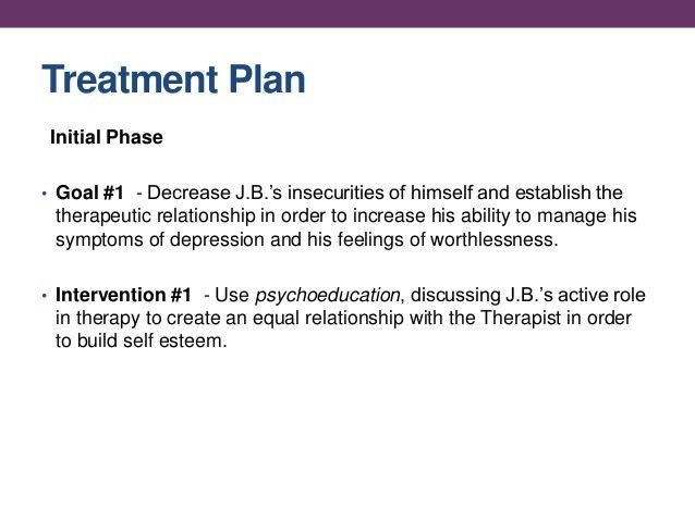Individual Therapy w/ Case Study