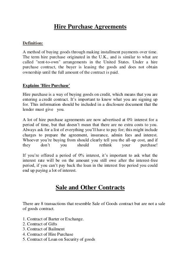 Buyer seller goods