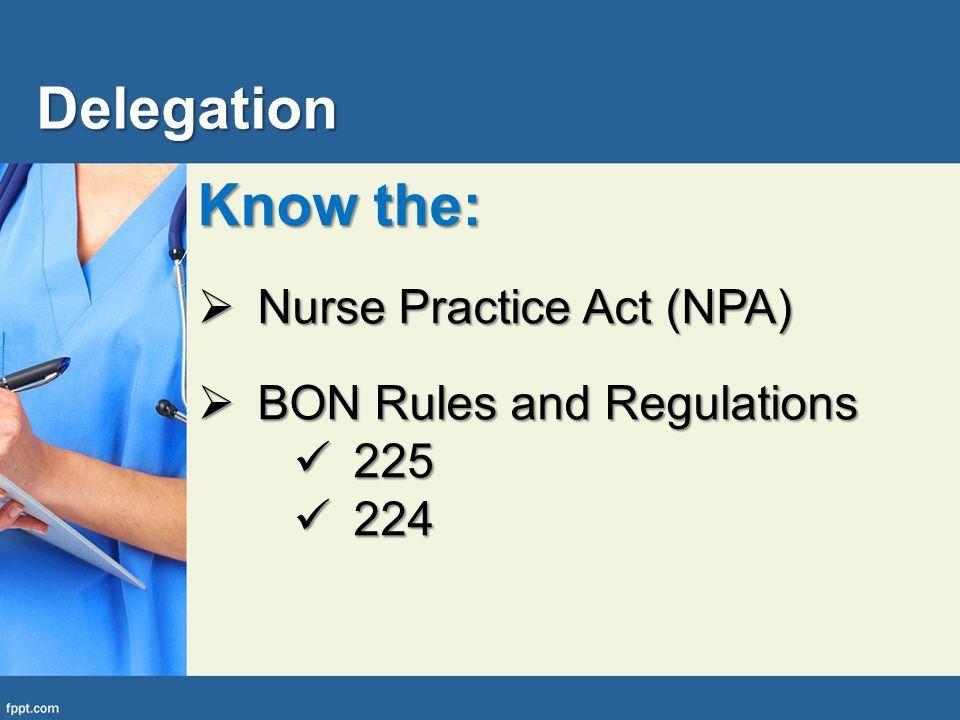 Delegation: The Professional School Nurses Role Julie Lindley, RN ...