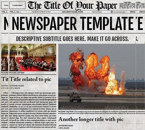 15+ Old Newspaper Templates – Free Sample, Example, Format ...