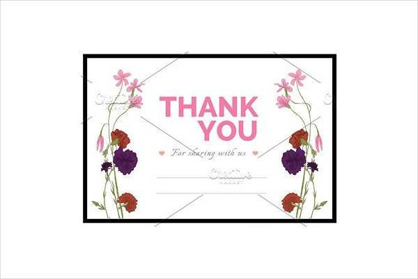 Wedding Thank You Cards: Appealing Thank You Cards For Wedding ...