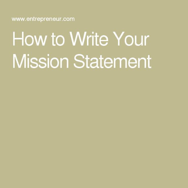 Top 25+ best Mission statement examples ideas on Pinterest ...