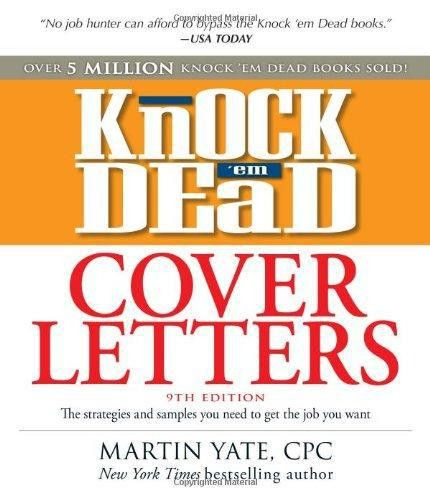 9781440505881: Knock 'em Dead Cover Letters: Great letter ...