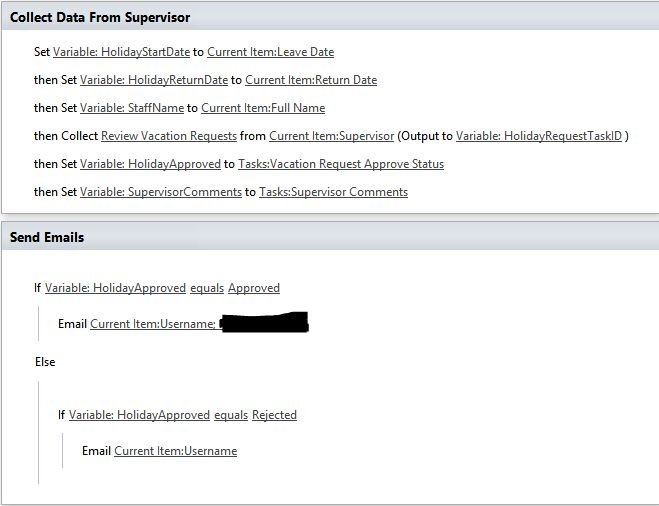 2007 - Creating a Vacation/Holiday Request Form in SharePoint 2013 ...